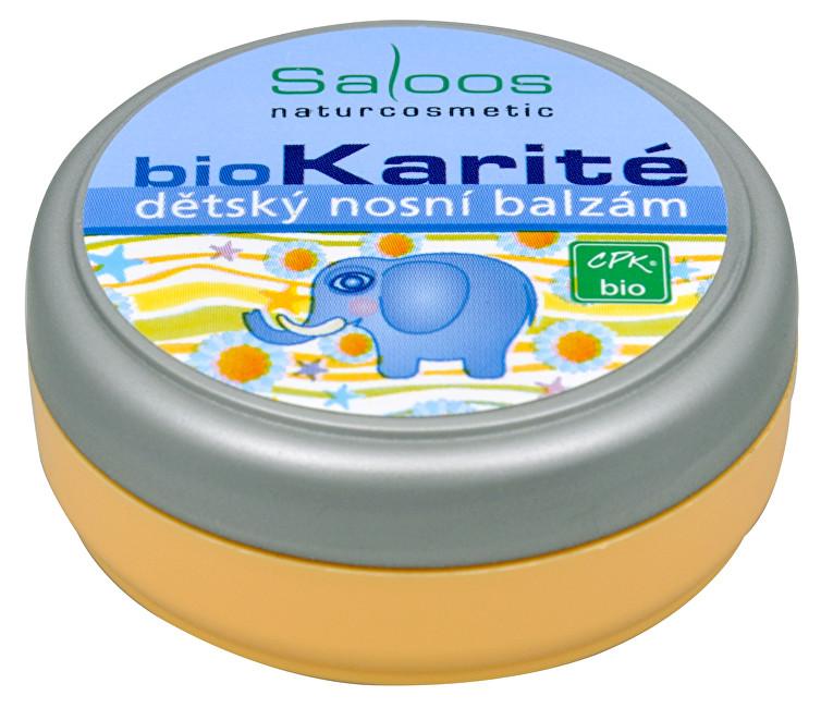 Zobrazit detail výrobku Saloos Bio Karité dětský Nosní balzám 19 ml