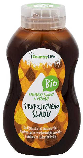 Country Life Bio Sirup ječný se sladem - přírodní sladidlo 250 ml