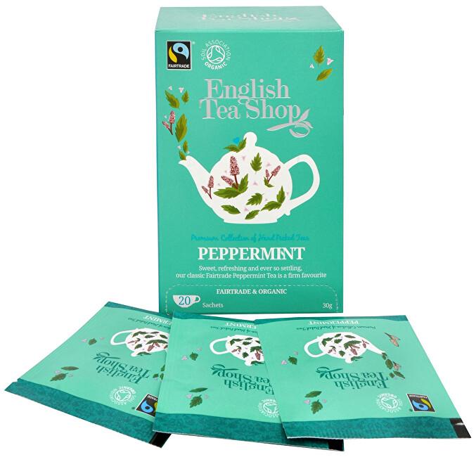 Zobrazit detail výrobku English Tea Shop Čaj Čistá máta 20 sáčků