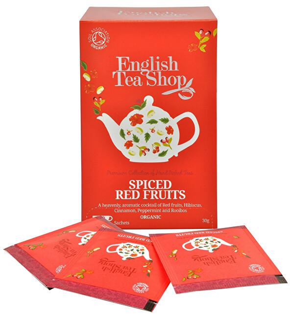 English Tea Shop Čaj kořeněné červené ovoce 20 sáčků