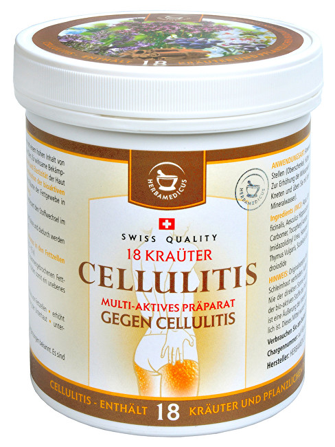 Herbamedicus Cellulitis gel na celulitidu 500 ml