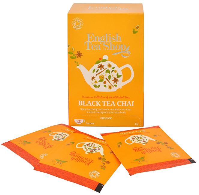Zobrazit detail výrobku English Tea Shop Černý čaj Chai 20 sáčků