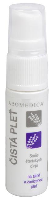 Čistá pleť - směs éterických olejů na akné a zanícenou pleť 10 ml