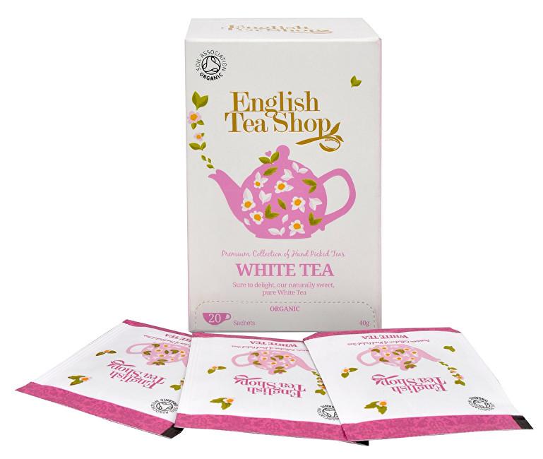 Čistý bílý čaj 20 sáčků