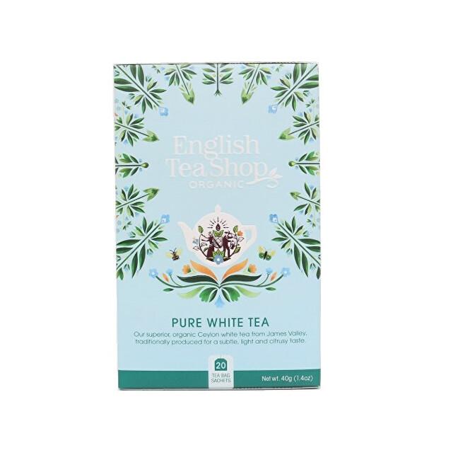 Zobrazit detail výrobku English Tea Shop Čistý bílý čaj 20 sáčků