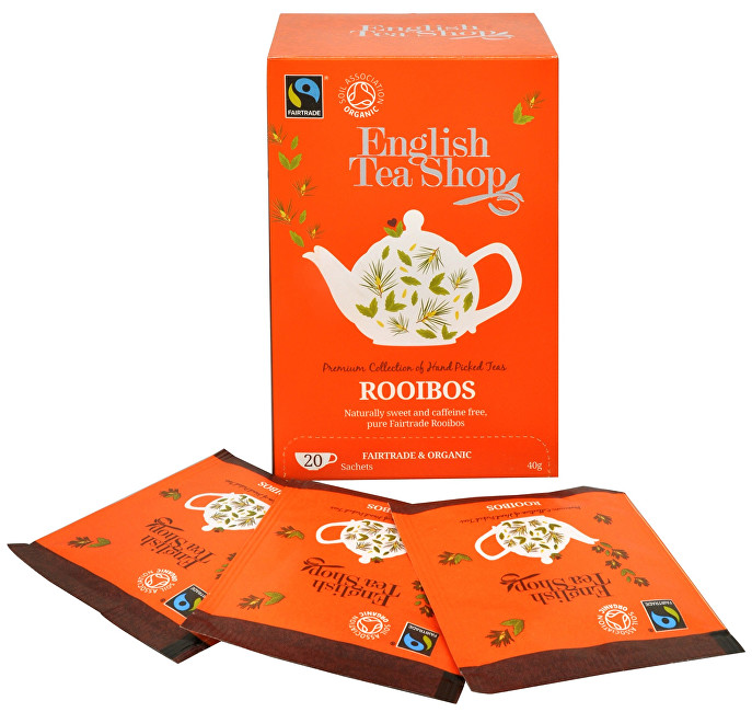 English Tea Shop Čistý čaj Rooibos 20 sáčkov