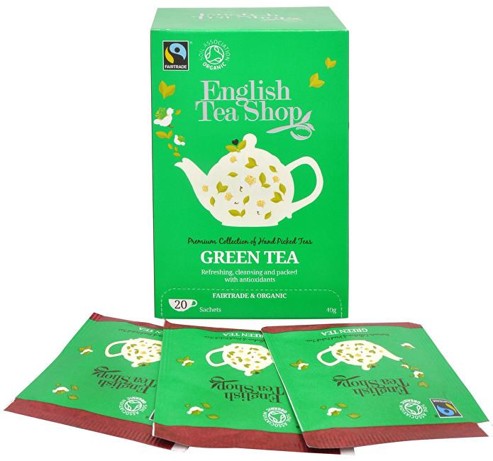 Zobrazit detail výrobku English Tea Shop Čistý zelený čaj 20 sáčků