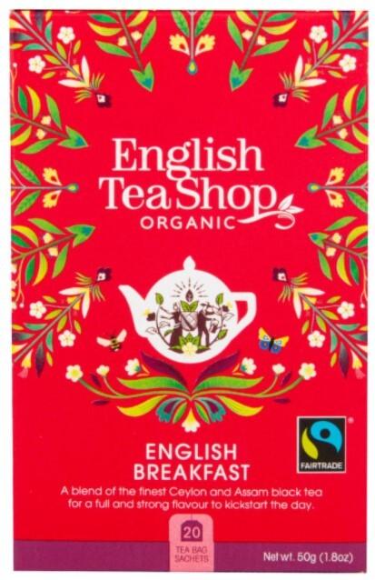 Černý čaj English Breakfast 20 sáčků