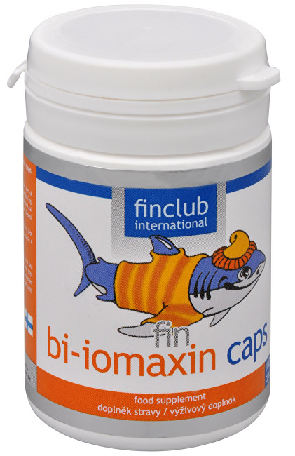 Finclub Fin Bi-iomaxin caps 100 kapslí
