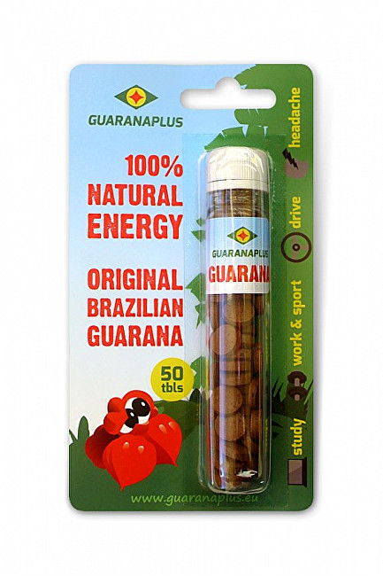 Fotografie GUARANAPLUS Guarana 50 tablet