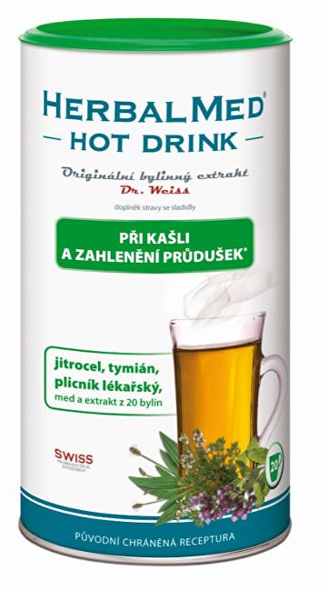 Zobrazit detail výrobku Simply You HerbalMed Hot Drink Dr. Weiss - kašel, průdušky 180 g