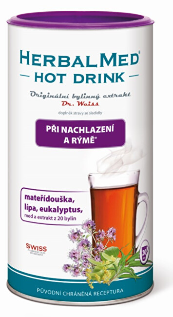 Simply You HerbalMed Hot Drink Dr. Weiss - prechladnutie, nádcha 180 g