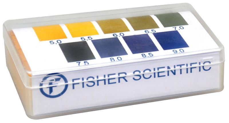 Fisher Scientific Indikátorové pH papírky (5,0-9,0) 200 ks