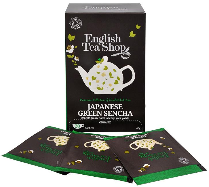 Japonský zelený čaj Sencha 20 sáčků