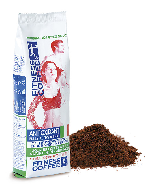 Káva Fitness Coffee Antioxidant Fully Active Blend mletá 250 g