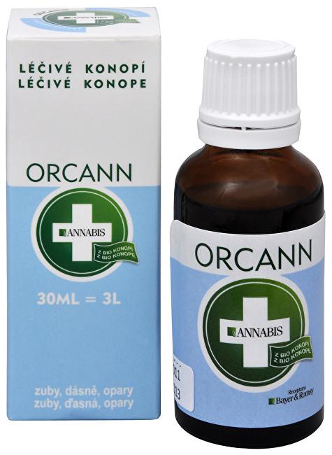 Fotografie Orcann - konopná ústní voda 30 ml
