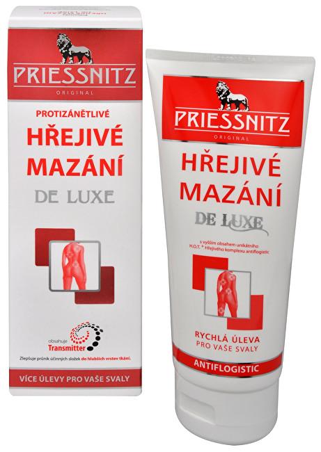Priessnitz Hřejivé mazání De Luxe 200 ml