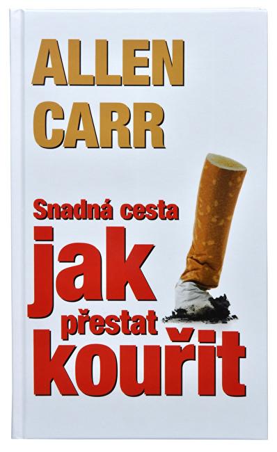 Fotografie Knihy Snadná cesta jak přestat kouřit (Allen Carr)