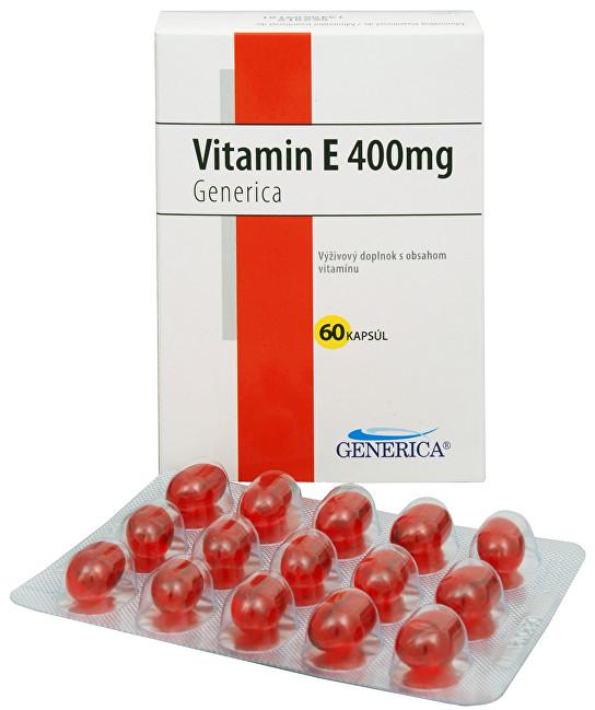Generica Vitamín E 400 mg 60 kapslí
