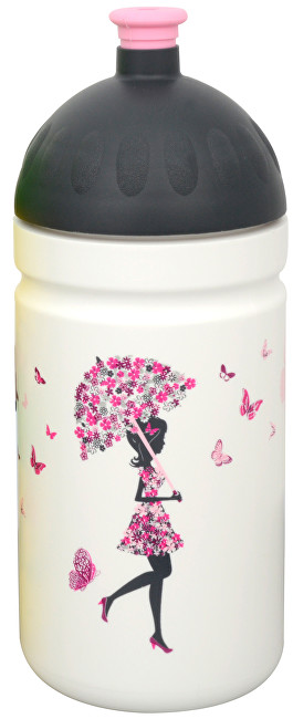 Zobrazit detail výrobku R&B Zdravá lahev 500 ml Dívka s deštníkem