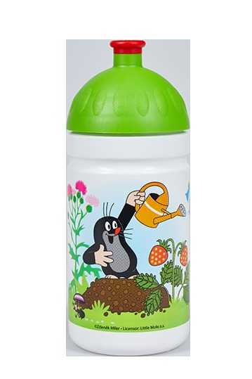 Zobrazit detail výrobku R&B Zdravá lahev 0,5 l Krtek a jahody zelená