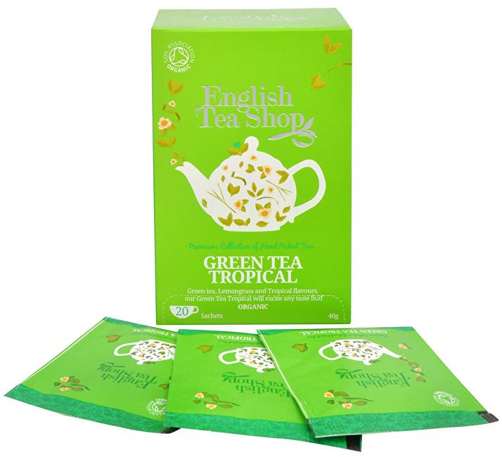 Zobrazit detail výrobku English Tea Shop Zelený čaj s infúzí tropického ovoce 20 sáčků