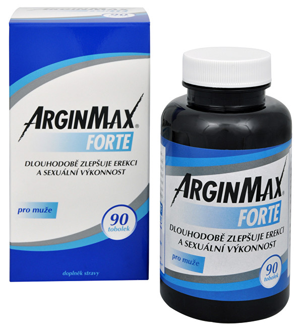 Zobrazit detail výrobku Simply You ArginMax Forte pro muže 90 tob.