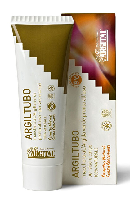Zobrazit detail výrobku Argital Argital - maska ze zeleného jílu Argiltubo 20 ml