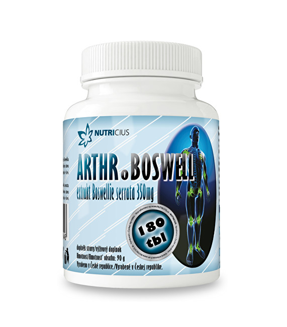 Zobrazit detail výrobku Nutricius Arthr.boswell 180 tbl.