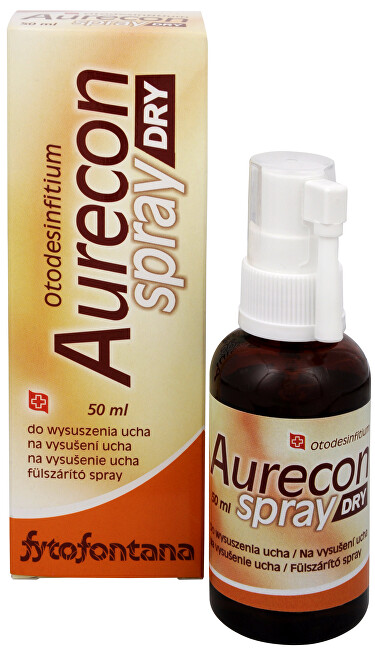 Aurecon dry spray na vysušení ucha 50 ml
