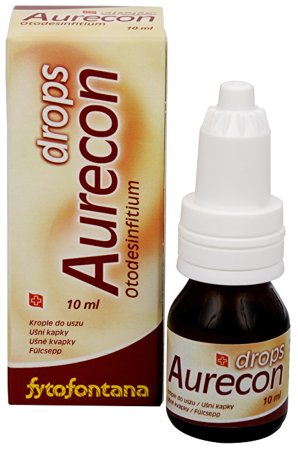 Herb Pharma Aurecon ušné kvapky 10 ml