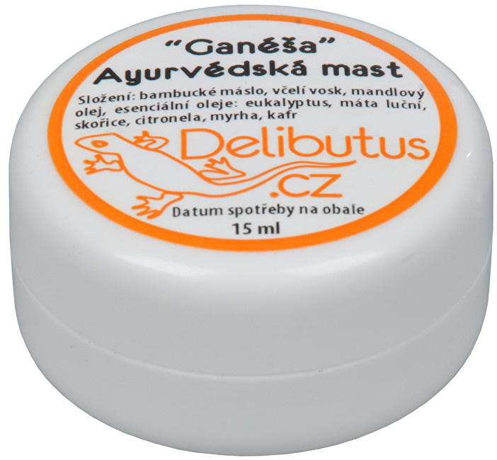 Ayurvédská mast Ganéša 15 ml
