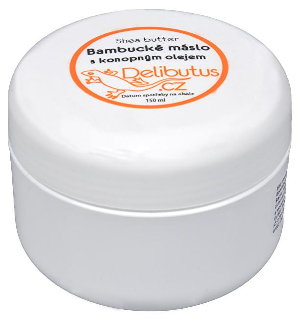 Zobrazit detail výrobku Delibutus Bambucké máslo s konopným olejem 150 ml