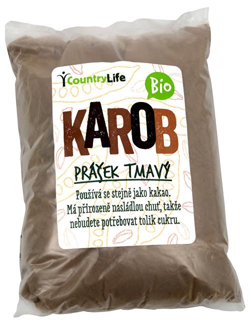 Zobrazit detail výrobku Country Life BIO Karobový prášek tmavý 500 g
