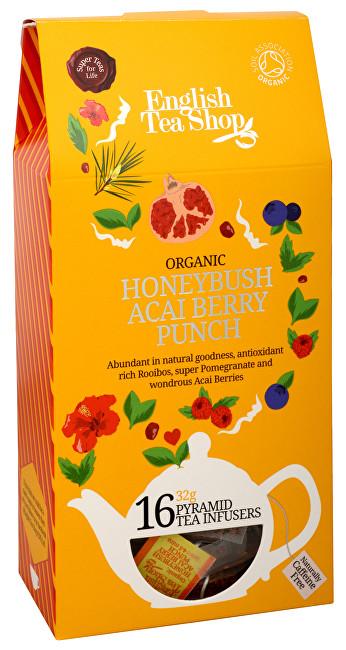 Zobrazit detail výrobku English Tea Shop Čaj Punč s medovým keřem a ovocem acai 16 pyramidek