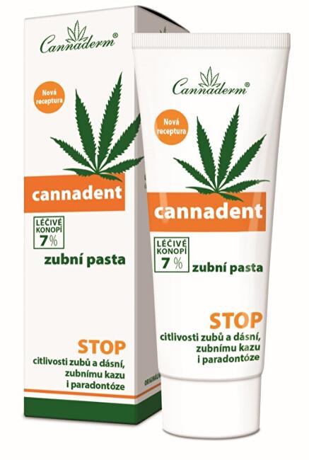 Cannaderm Cannadent zubní pasta NEW 75 g