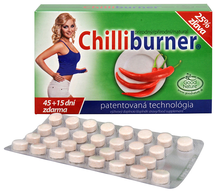 Good Nature Chilliburner 45 tbl. + 15 tbl. ZDARMA