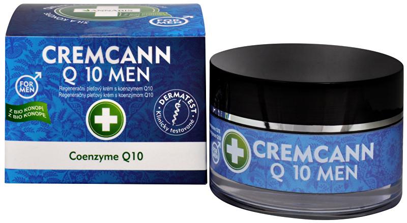 Annabis Cremcann Q10 For men - konopný regenerační pleťový krém pro muže přírodní 50 ml