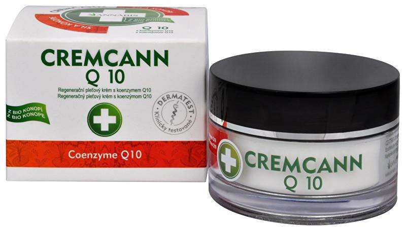 Cremcann Q10 - konopný regenerační pleťový krém 50 ml
