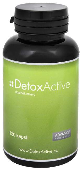 Zobrazit detail výrobku Advance nutraceutics DetoxActive 120 kapslí