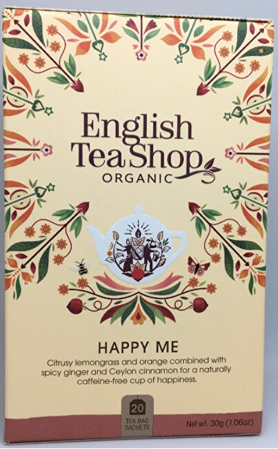 BIO Wellness čaj - Štěstí 20 sáčků