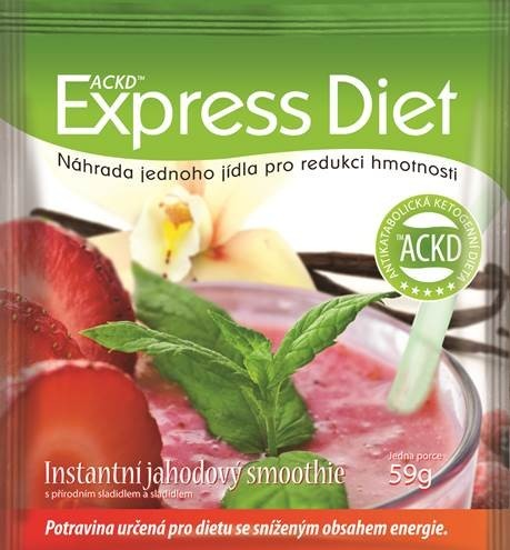Good Nature Express Diet - instantní jahodový smoothie 59 g