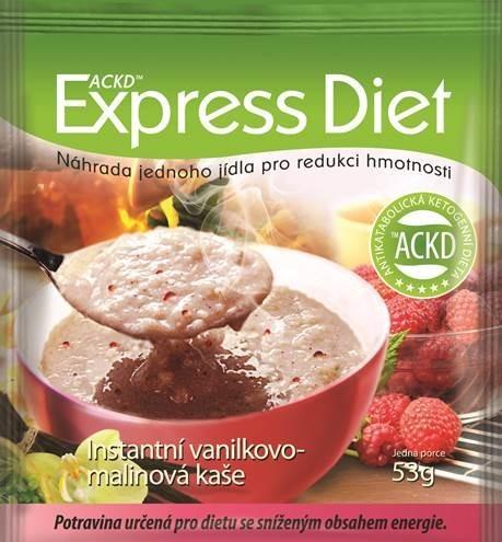 Zobrazit detail výrobku Good Nature Express Diet instantní kaše Vanilkovo-malinová 53 g