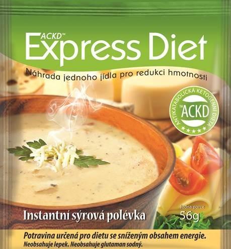 Zobrazit detail výrobku Good Nature Express Diet instantní polévka Sýrová 56 g