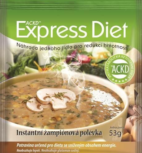 Zobrazit detail výrobku Good Nature Express Diet instantní polévka Žampionová 53 g