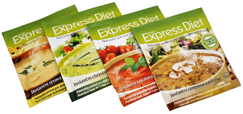 Good Nature Express Diet - instantní polévka - SLEVA - EXPIRACE 30.3.2020