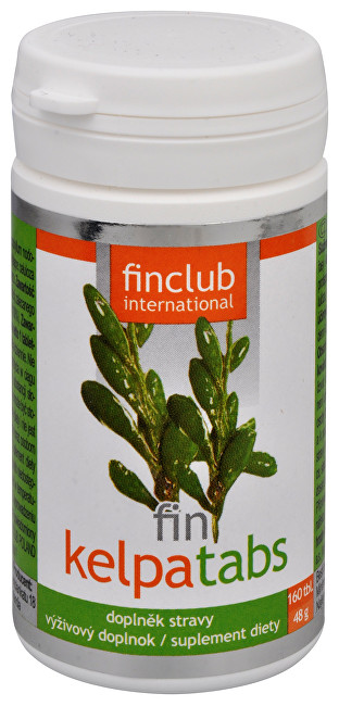 Finclub Fin Kelpatabs 160 tbl.