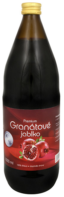 Zobrazit detail výrobku Allnature Granátové jablko Premium - 100% šťáva 1000 ml