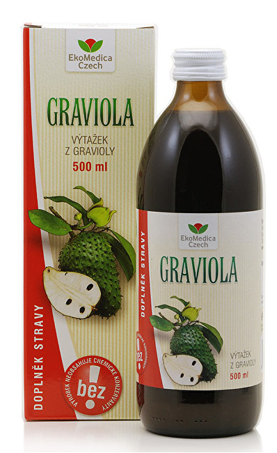 Zobrazit detail výrobku EkoMedica Czech Graviola - výtažek z gravioly 500 ml