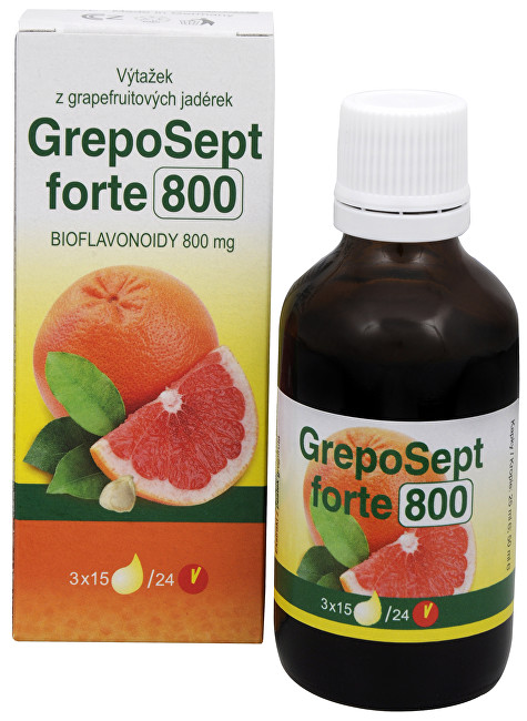 Zobrazit detail výrobku RTJ group GrepoSept Forte 800 kapky 50 ml